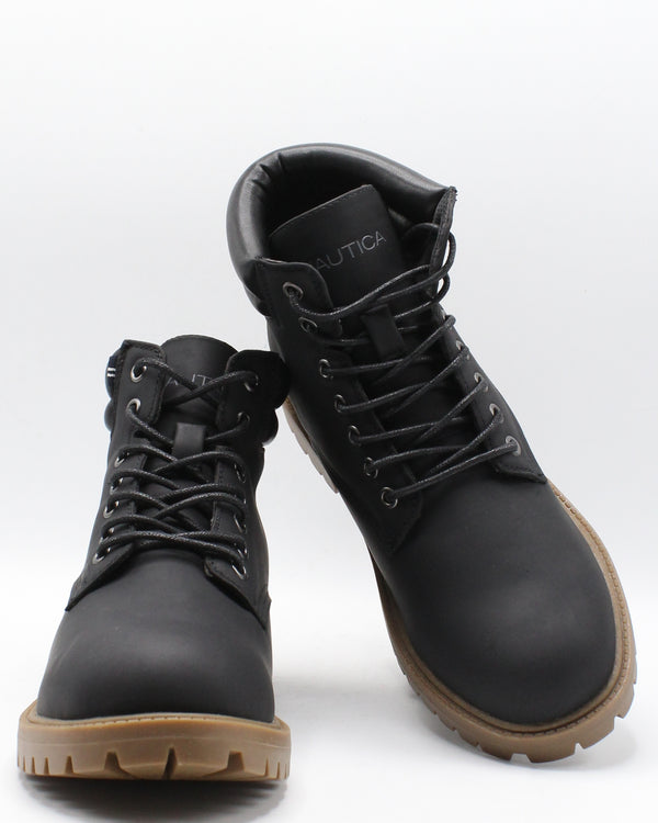 NAUTICA Men'S Pratt Boot - Black - Vim.com