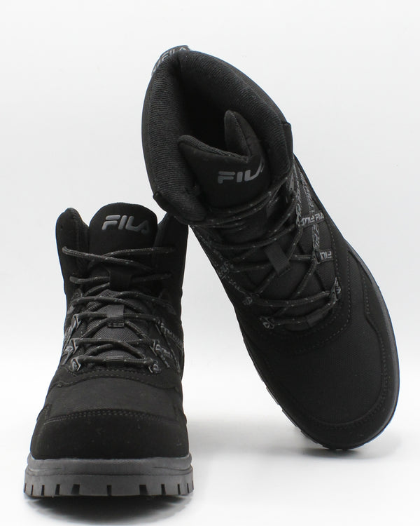 FILA Men'S Pro Strap Boot - Black - Vim.com