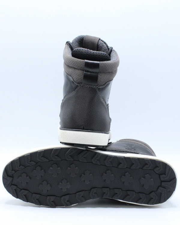 Men's Moc Toe Boot - Black
