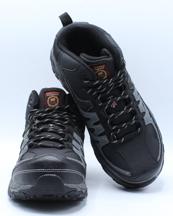 Men's Rebem Steel Toe Boot - Black Charcoal