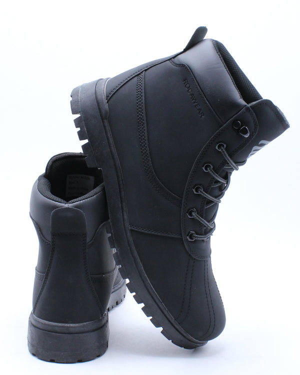 Men's Alton Mono Boot - Black-VIM.COM