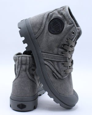 Men's Pallabrouse Boot - Charcoal Black-VIM.COM