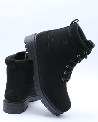 FILA-Men's Edgewater 12 Boot - Black-VIM.COM