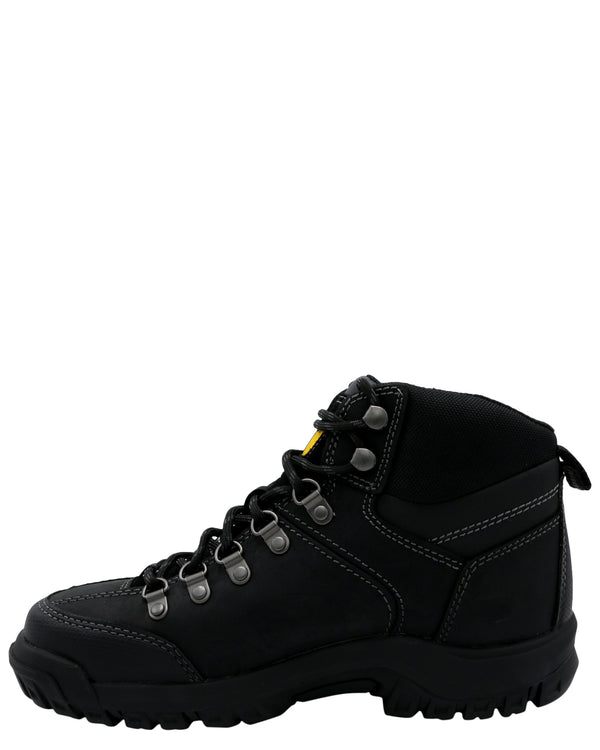 Caterpillar Men'S Threshold Wp Steel Toe Boot - Black - Vim.com