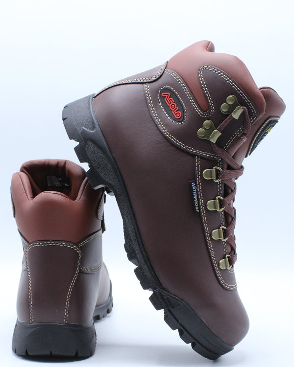 ASOLO-Men's Sunrise Hiker Waterproof Boot - Burgundy-VIM.COM