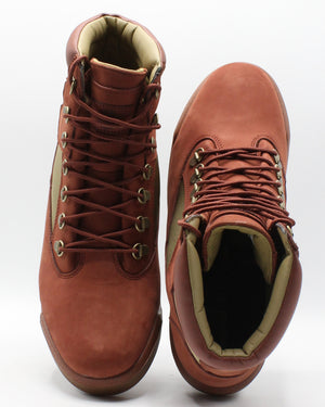 TIMBERLAND Men'S 6 Inch Fabric Leather Sneaker - Rust - Vim.com