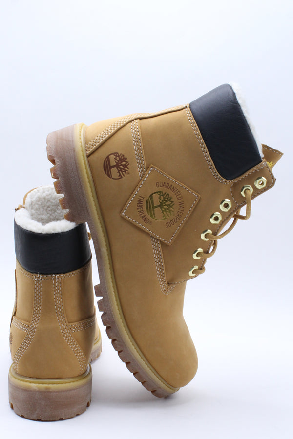 TIMBERLAND Men's 6 In Faux Fur Lined