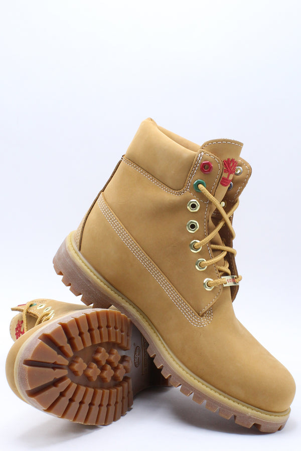 Men's 6 In Premium Lined Tongue Boot - Wheat