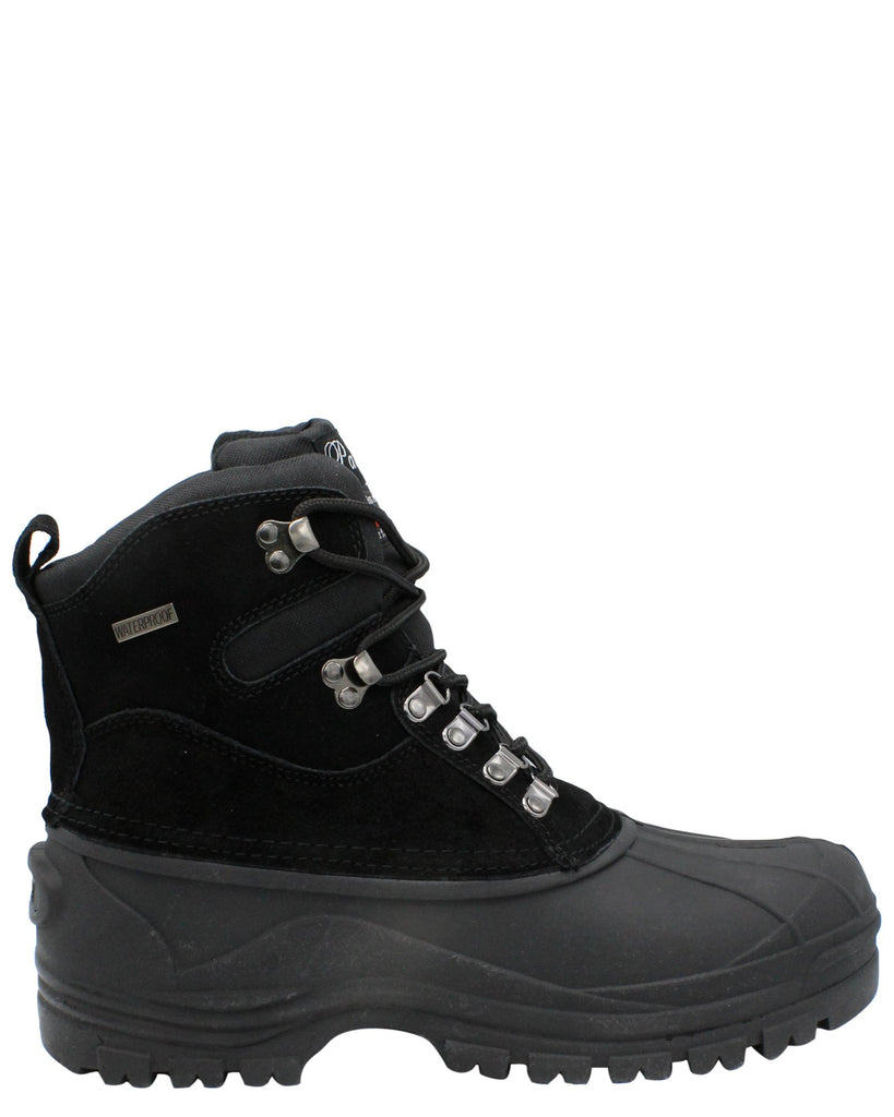 Parrazo Men'S Snow Boot - Black - Vim.com