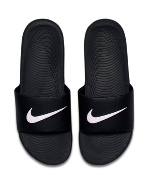 NIKE-Men's Nike Kawa Slide - White Black-VIM.COM