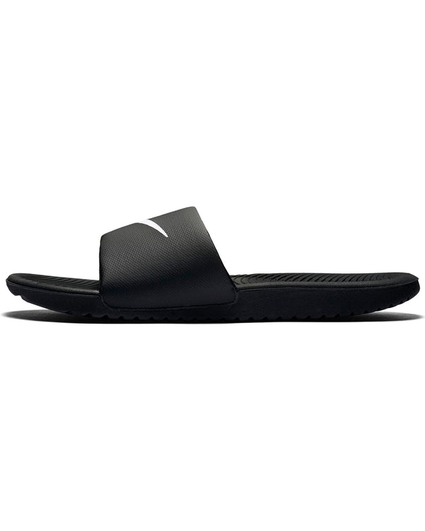 Men's Nike Kawa Slide - White Black