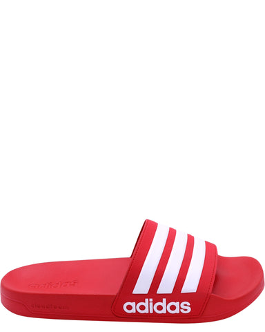 Men's Adilette Cf Slide - Scarlet White