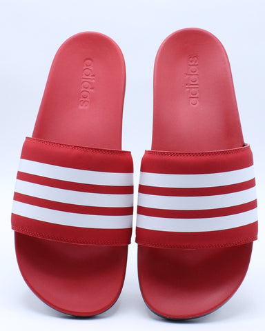 Men's Adilette Comfort Slide - Red White