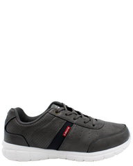 LEVI'S Stallion Burnish Sneaker (Grade School) - Grey - Vim.com