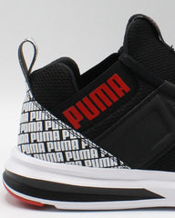 PUMA Men'S Enzo Repeat Sneaker - Black Red White - Vim.com