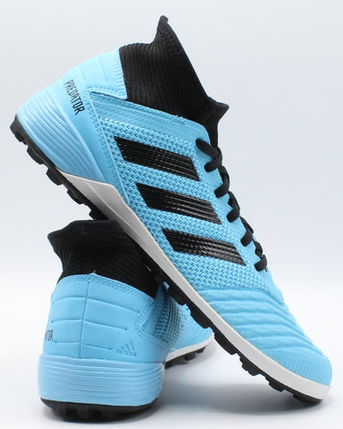 ADIDAS-Men's Predator 19.3 Tf Shoe - Cyan Blue-VIM.COM