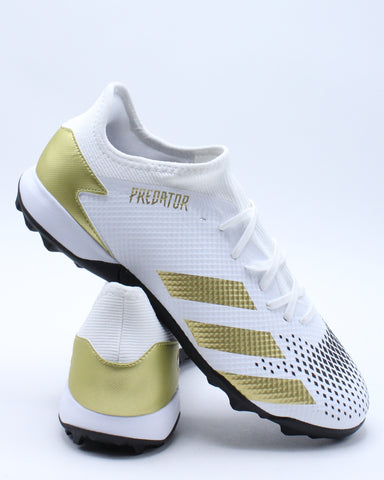 Men's Predator 20.3 LL Turf Shoe - White Gold
