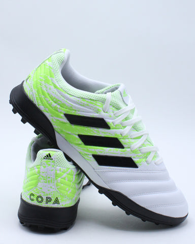 Men's Copa 20.3 Turf Shoe - White Green