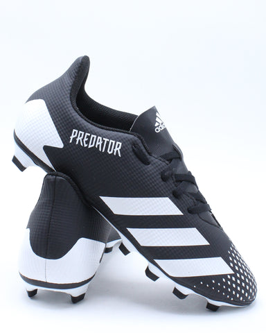 Men's Predator 20.4 Fxg Shoe - Black White