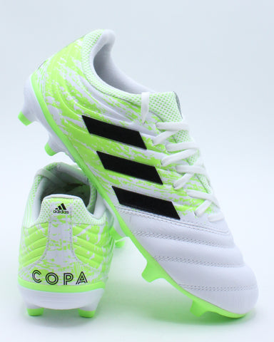Men's Copa 20.3 Fg Shoe - White Green