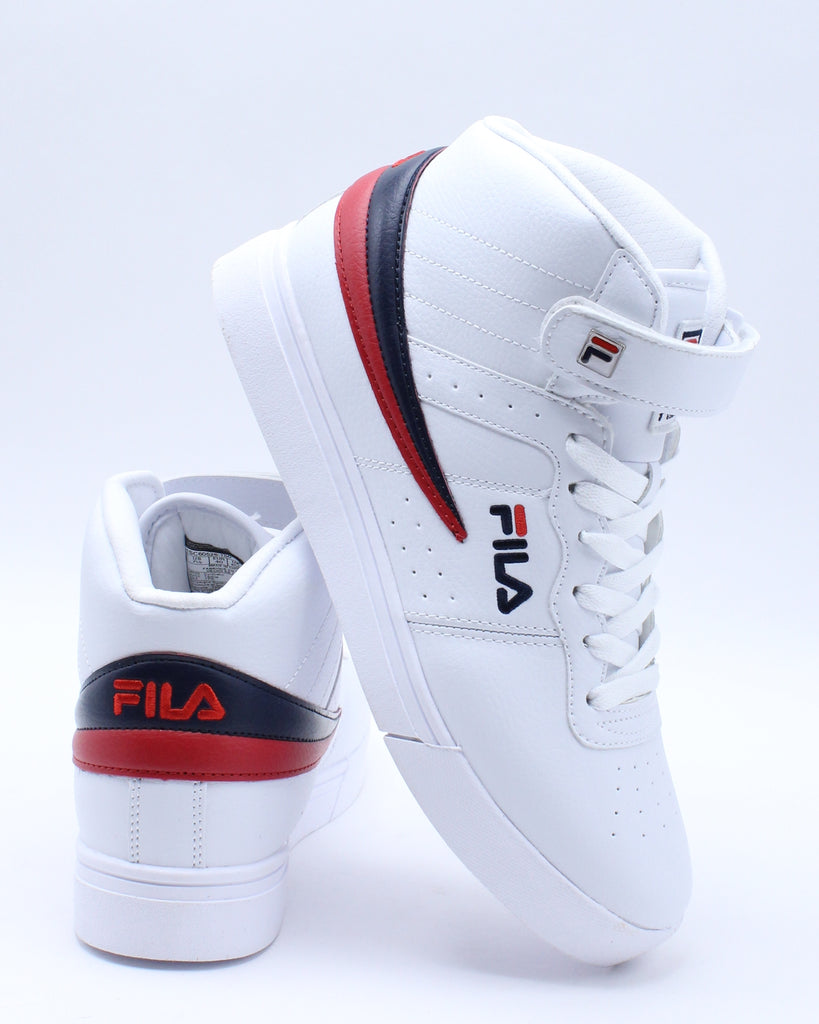 Mens Vulc 13 Mid Plus Sneaker - White Navy Red
