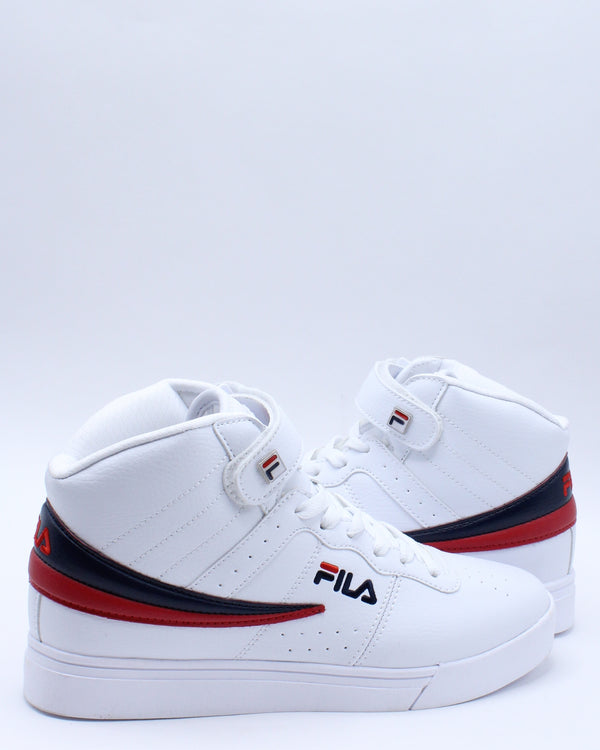 Men's Vulc 13 Mid Plus Sneaker - White Navy Red