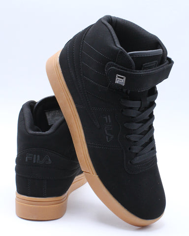 FILA-Men's Vulc 13 Mp Gum Sneakers - Black-VIM.COM