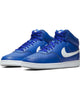 Men's Nike Court Vision Mid Sneaker - Blue Grey