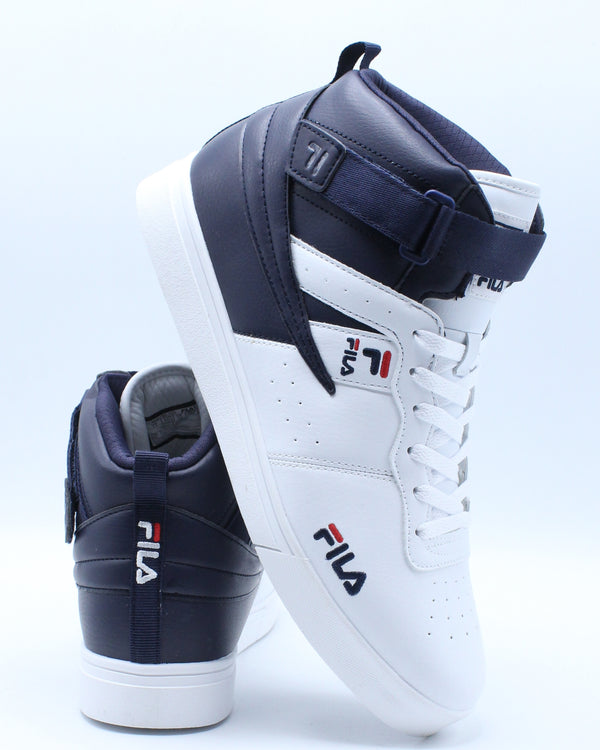 FILA-Men's Vulc 13 Tech Sneaker - White Navy Red-VIM.COM