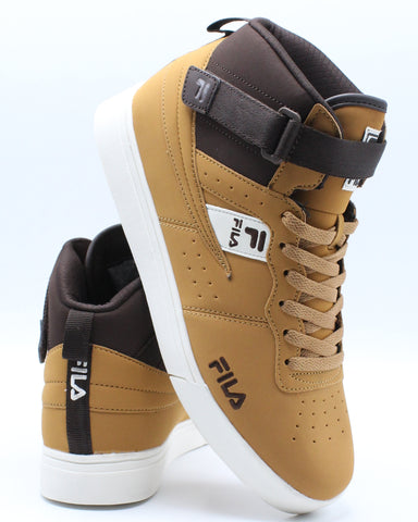 FILA-Men's Vulc 13 Tech Sneaker - Wheat Espresso-VIM.COM