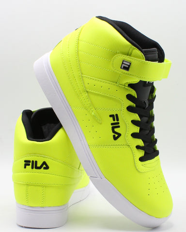FILA Men'S Vulc 13 Diamond Sneaker - Yellow - Vim.com
