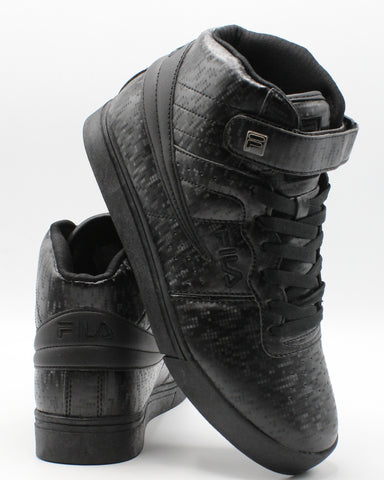 FILA-Men's Vulc 13 Digital Sneaker - Black-VIM.COM