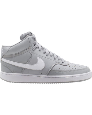 NIKE-Men's Nike Court Vision Mid Sneaker - Light Smoke Grey-VIM.COM