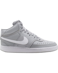 Men's Nike Court Vision Mid Sneaker - Light Smoke Grey