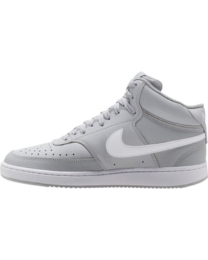 Men's Court Vision Mid Sneaker - Light Smoke Grey