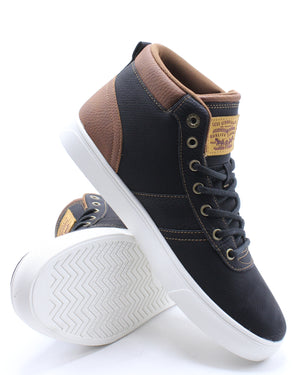 Men's Miles 4 Mid Wx Shoe - Black Tan