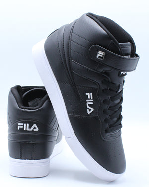 FILA-Men's Vulc 13 Sneaker - Black White-VIM.COM