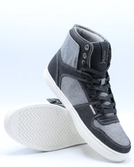 Mens Mason Hi 501 Sneaker - Black Charcoal