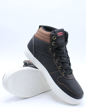 Men's Liam Mid Sneaker - Black