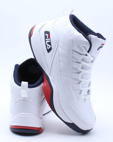 Men's Seven High Sneaker - White