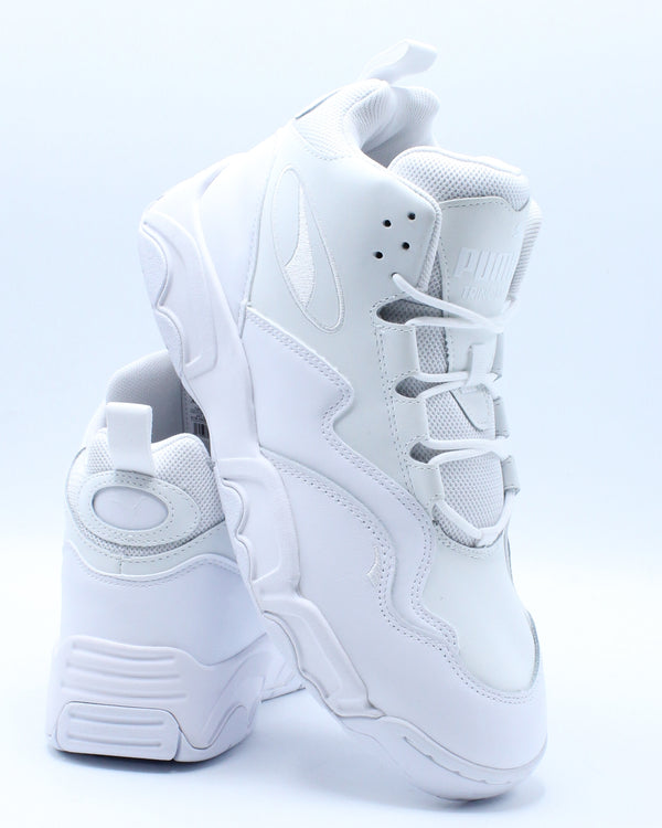 Men's Source Mid Sneaker - White-VIM.COM