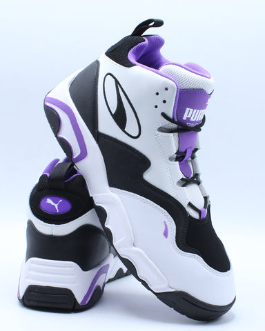 Men's Source Mid Sneaker - White Purple