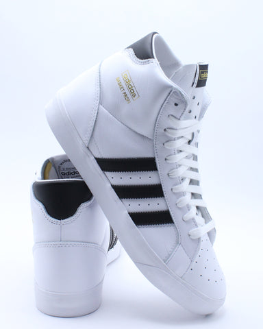 ADIDAS-Men's Basket Profi Sneaker - White Black-VIM.COM