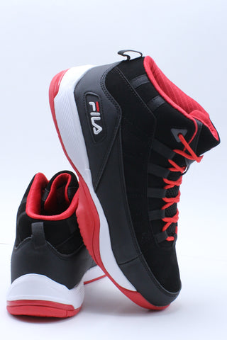 Men's Seven Five Sneaker - Black Red