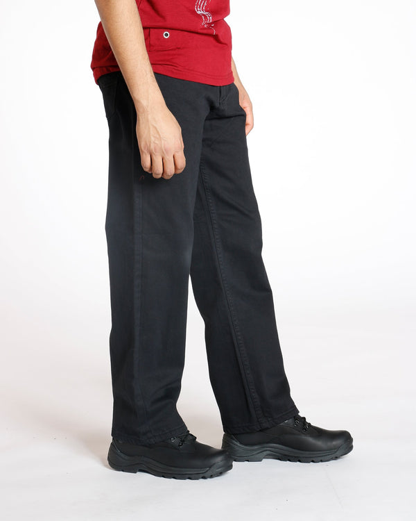 VIM Relaxed Fit Baggy Jean - Black - Vim.com