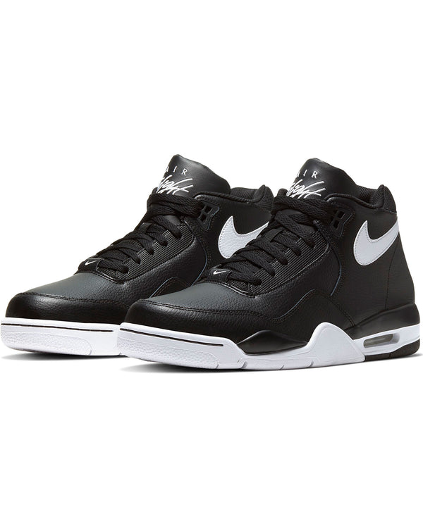 NIKE-Men's Nike Flight Legacy Sneaker - Black White-VIM.COM