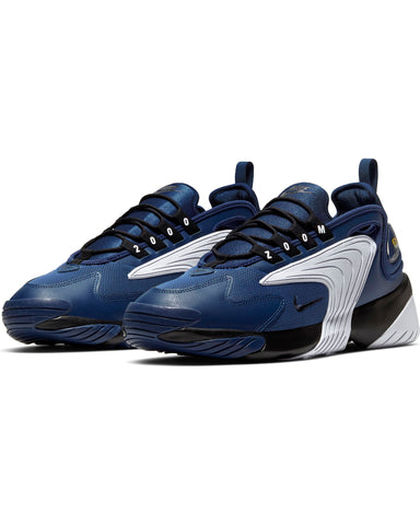 Men's Nike Zoom  2k Sneaker - Blue Black White