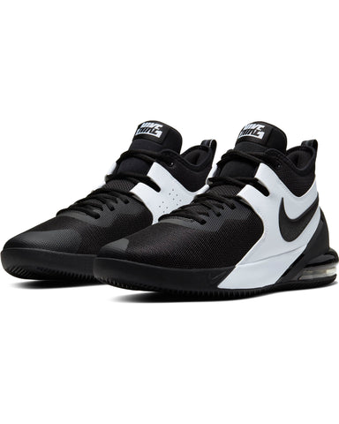 NIKE-Men's Air Max Impact Sneaker - Black White-VIM.COM