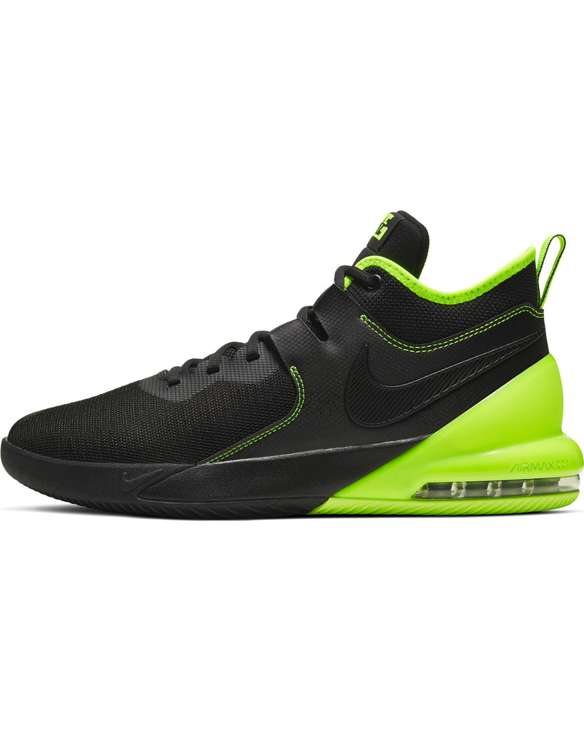 Men's Nike Air Max  Impact  Na Sneaker - Black Volt