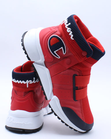 CHAMPION-Men's Rally Future Sneaker - Red-VIM.COM